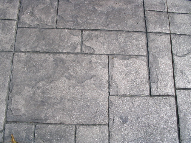 Grand Ashler Slate patio near Westerville and New Albany, Ohio