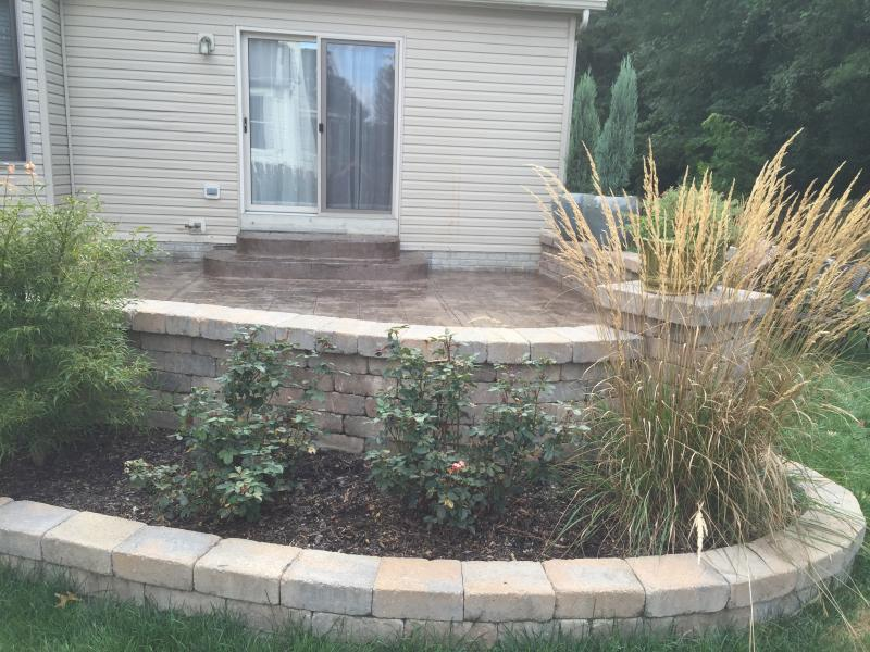 Customer received a beautiful patio in Westerville, Ohio at a competitive price!